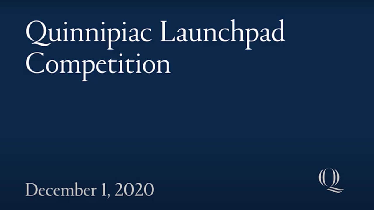 Quinnipiac Launchpad Competition poster image