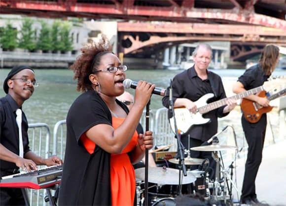 Chicago Soul Revue performs