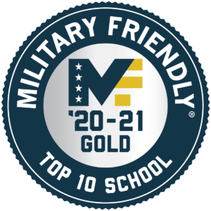 Military Friendly Top 10 School 2020-21