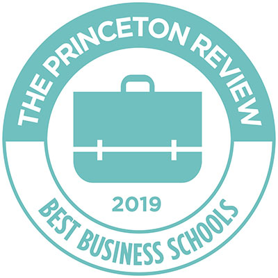 Princeton Review logo for 2019 Best Business Schools