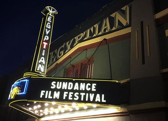 Theater at the Sundance festival.