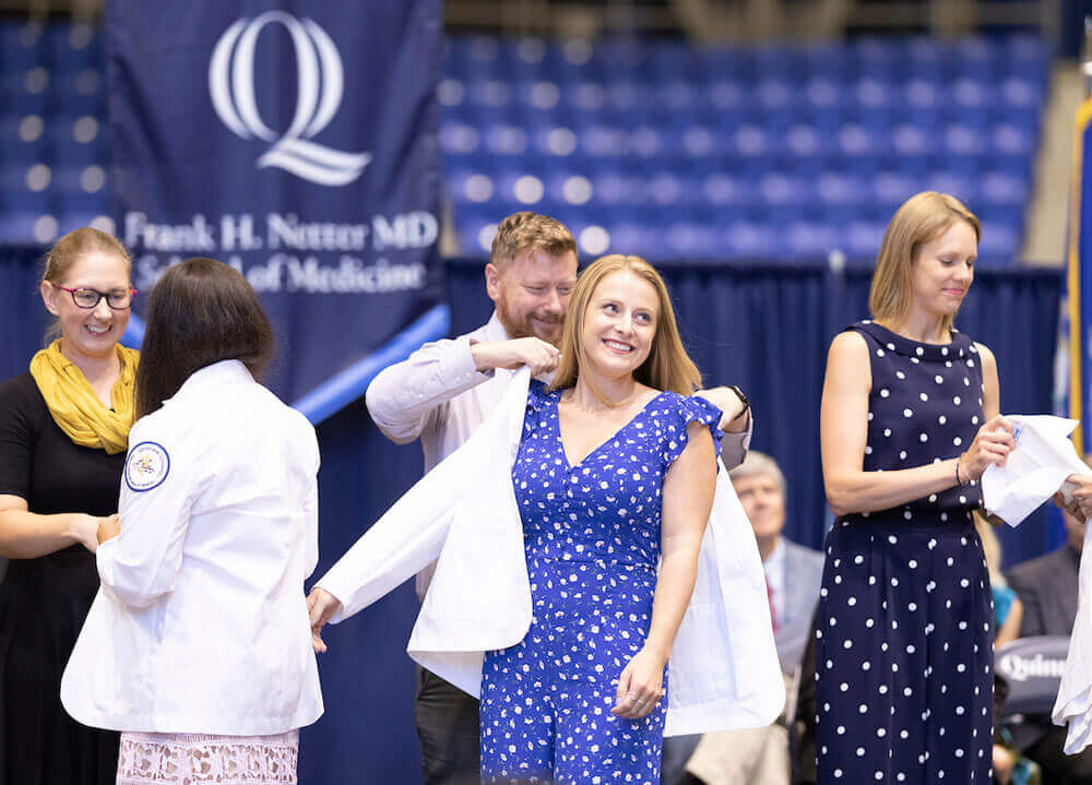 The Frank H. Netter MD School of Medicine at Quinnipiac University White Coat Ceremony
