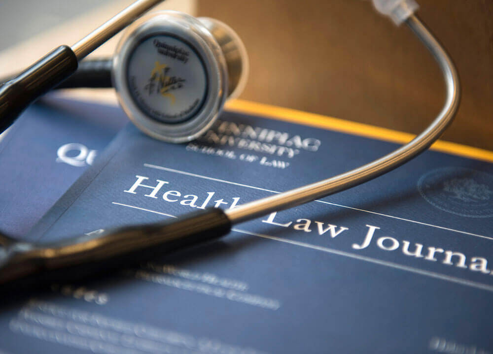 Cover of Quinnipiac's Health Law Journal