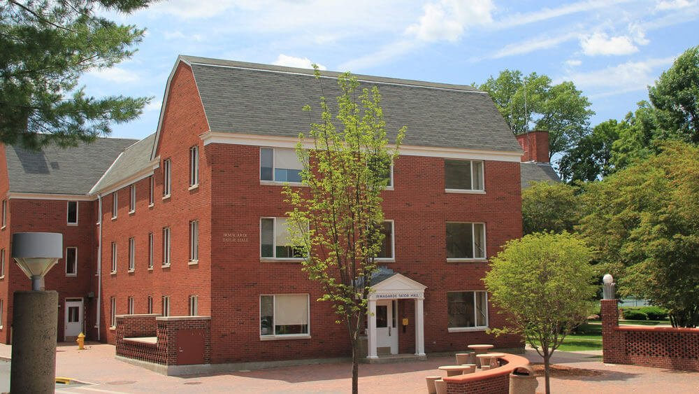 Tator residence hall on Quinnipiac's Mt Carmel campus
